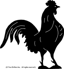 Bird - Rooster Weathervane