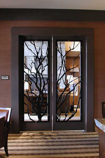 Door at Suncadia Resort