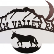 Ranch Sign - Dream Valley Ranch - Square