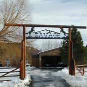 Ranch Sign - Savage