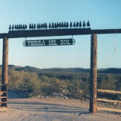 Ranch Sign - Tierra del Sol, with 30 Cowboys