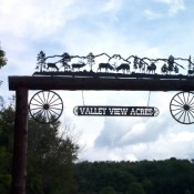 Ranch Sign - Valley View Acres