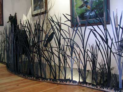 Metal Cattails