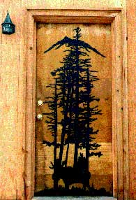 Moose Tree Door Panel