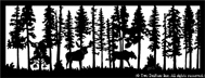 28.75 inch x 75.5 inch Moose 2 Balcony Panel