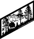 22 inch x 47.75 inch Elk Stair Panel
