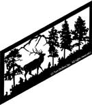 22 inch x 49 inch Elk Stair Panel