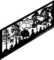 27 inch x 65.75 inch Elk Stair Panel