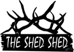 17.3 inch x 24.5 inch Elk Shed Name Sign