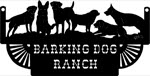 18 inch x 34 inch Dogs Name Sign