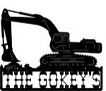 19.5 inch x 24 inch Excavator Name Sign