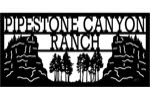 30 inch x 60 inch Canyon Name Sign