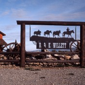 Ranch Sign - R & K Willet